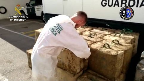 Detenidos 26 narcos que transportaban hachís desde Málaga hasta Francia