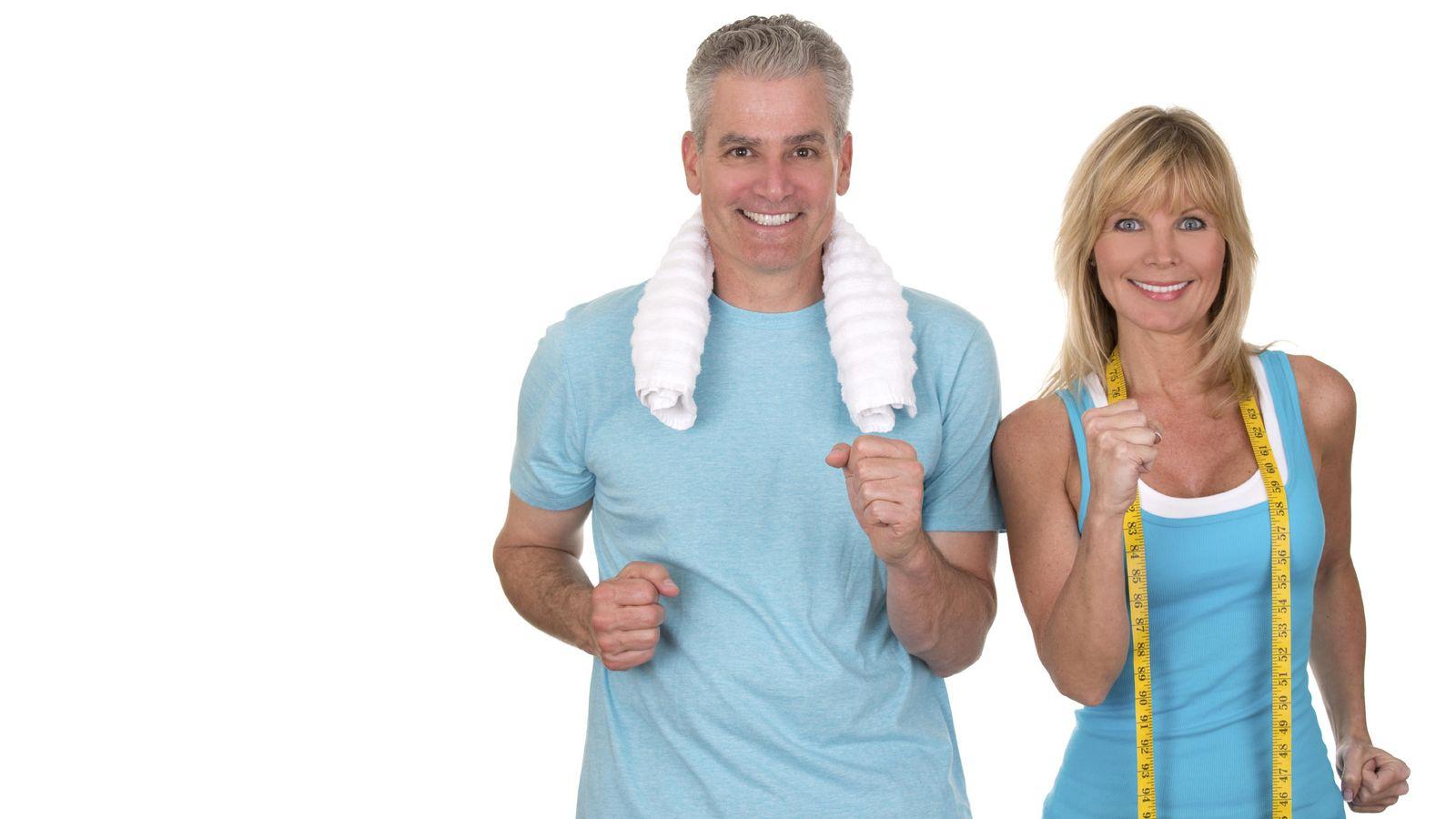 Foto: No, no solo los presentadores de la teletienda pueden estar en forma a partir de los 40. Es más sencillo. (iStock)