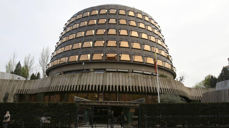 Imagen de la sede del Tribunal Constitucional en Madrid. (EFE)