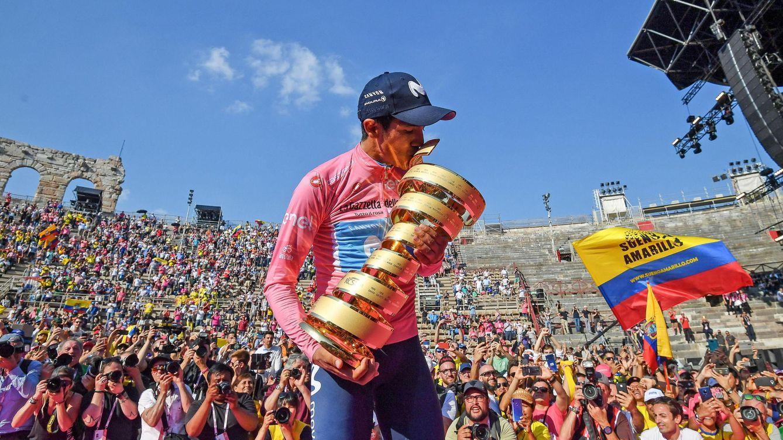 Movistar pierde a uno de sus líderes: Richard Carapaz, baja en la Vuelta por una caída