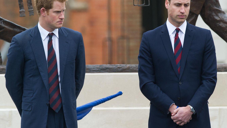 Foto: Los príncipes Guillermo y Harry, en una imagen de archivo (Gtres)