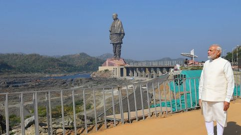 India inaugura la estatua más alta del mundo, la Estatua de la Unidad