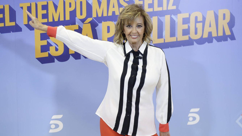 Foto: Maria Teresa Campos, presentadora de '¡Qué tiempo tan feliz!' (Gtres)