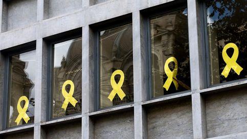 La Generalitat comunica a la JEC la retirada de simbología separatista de sus edificios