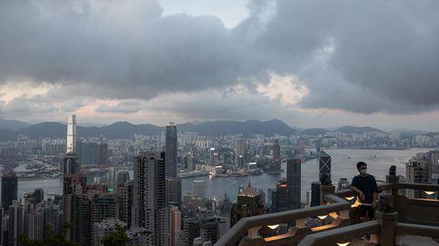 Terraza panorámica en Hong Kong