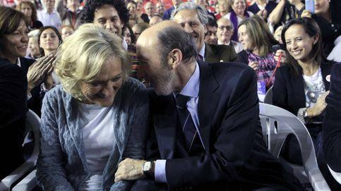 Pilar Goya, mujer de Pérez Rubalcaba, agradece el apoyo con una carta