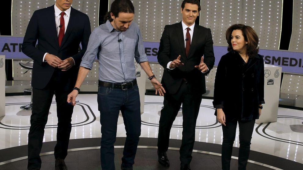 Los partidos pactan el formato del debate a cuatro a falta del 'minuto de oro'