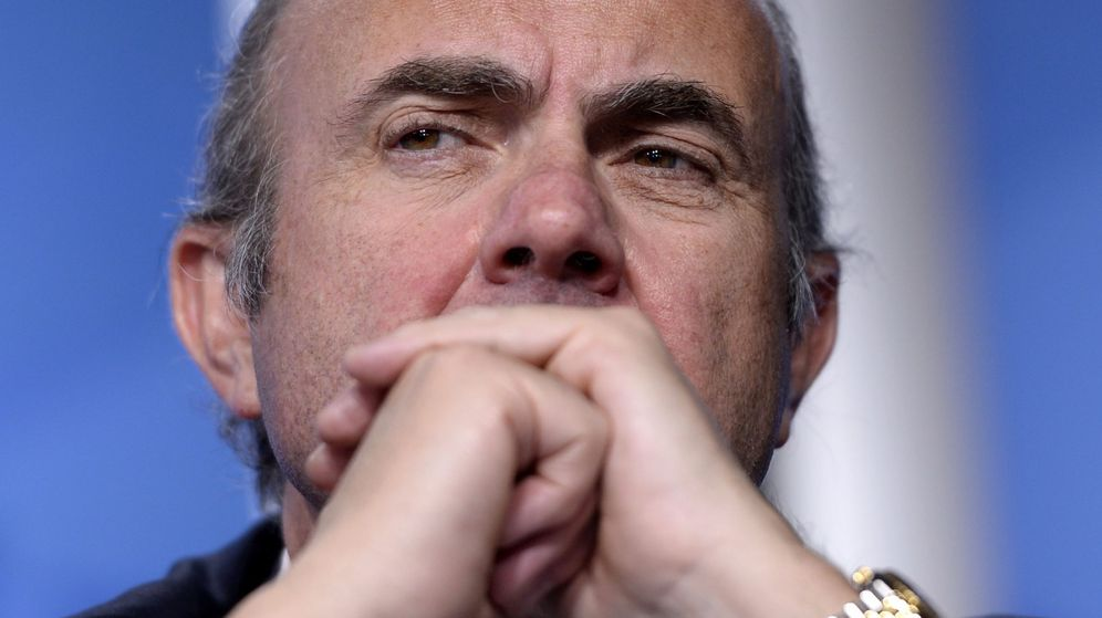 Foto: El ministro de Economía en funciones, Luis de Guindos (Efe).