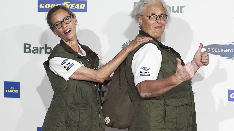 Paola y Lucía Dominguín, el pasado mes de junio. (Getty)