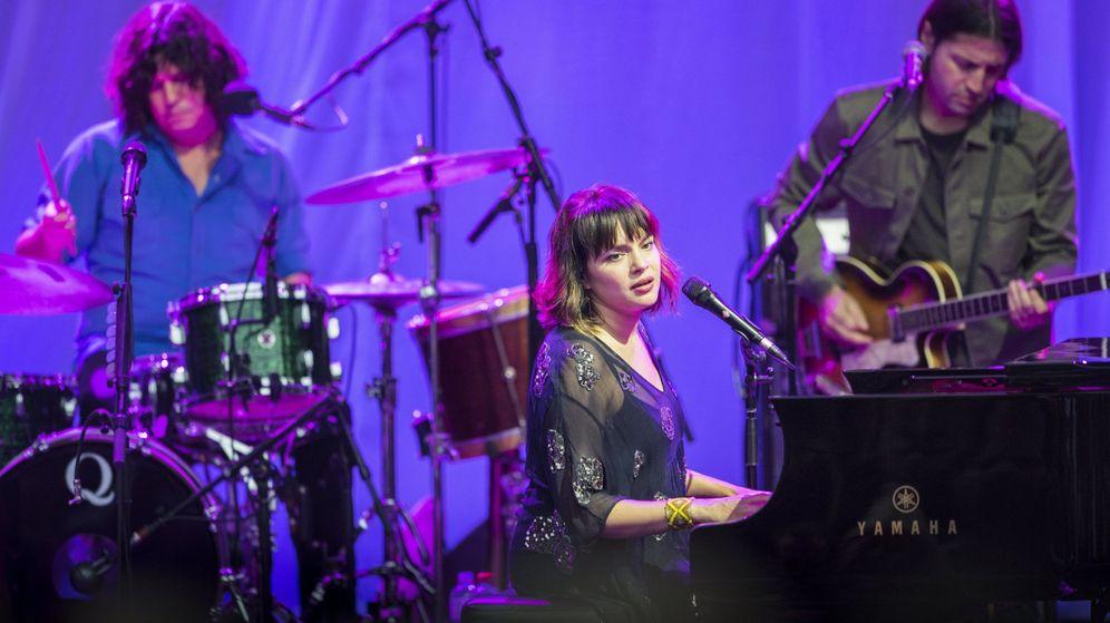 Foto: Norah Jones en concierto. (EFE)