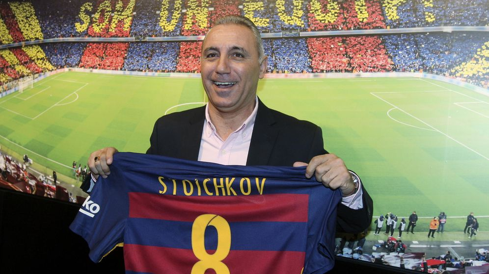 Foto: El exjugador del FC Barcelona Hristo Stoichkov. (EFE)