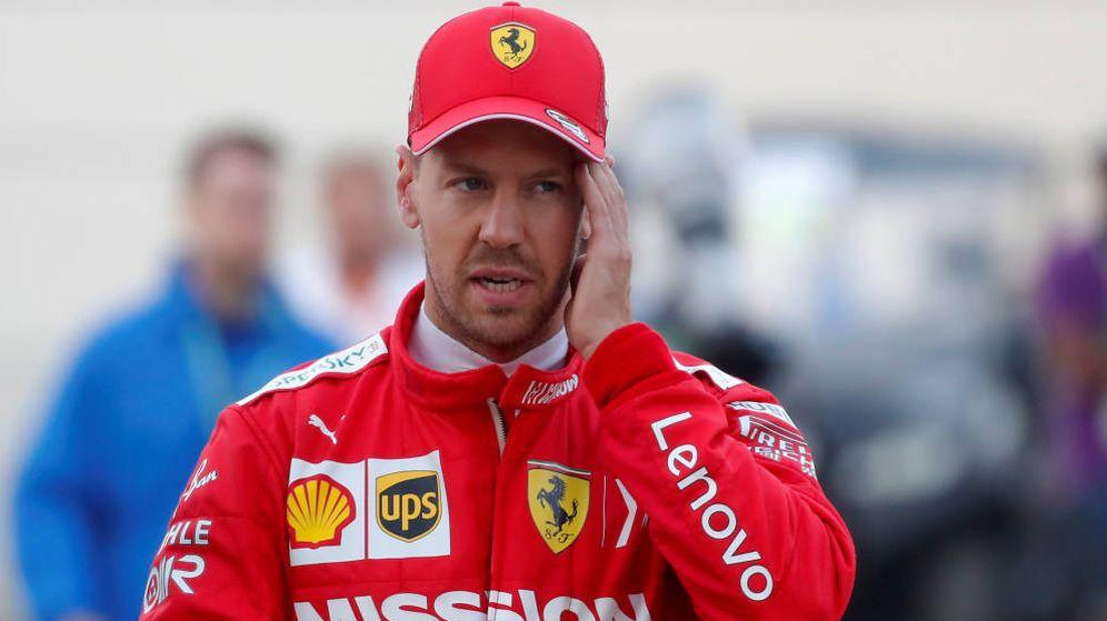 Foto: La prensa italiana sitúa como culpable, una vez más, a Sebastian Vettel. (Reuters)