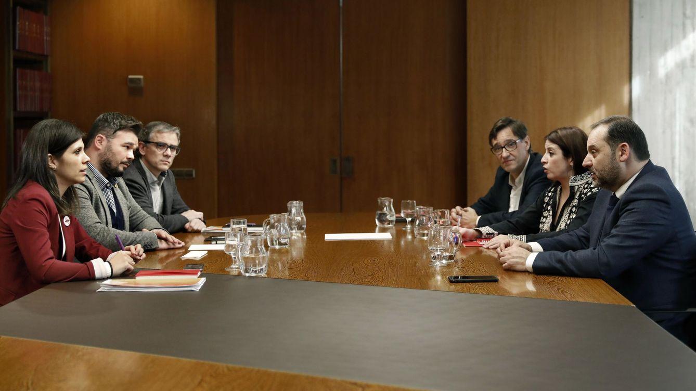 PSOE y ERC se reúnen en Madrid sin lograr desencallar la investidura de Sánchez