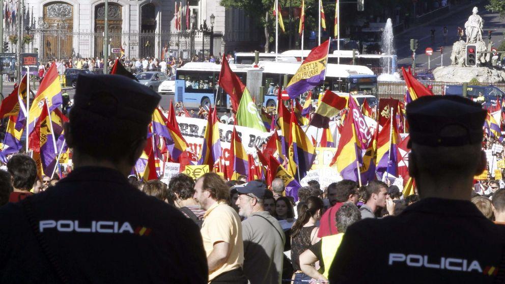 Interior tomará Madrid para laminar las protestas contra la Monarquía