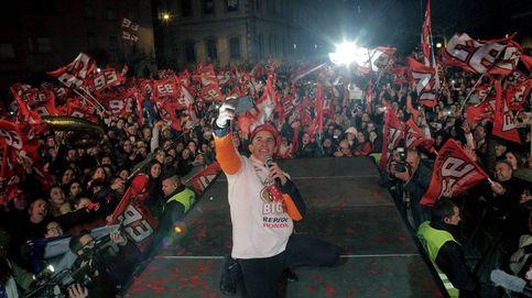 Marc Márquez no subirá al balcón de su ayuntamiento por un cartel de los presos
