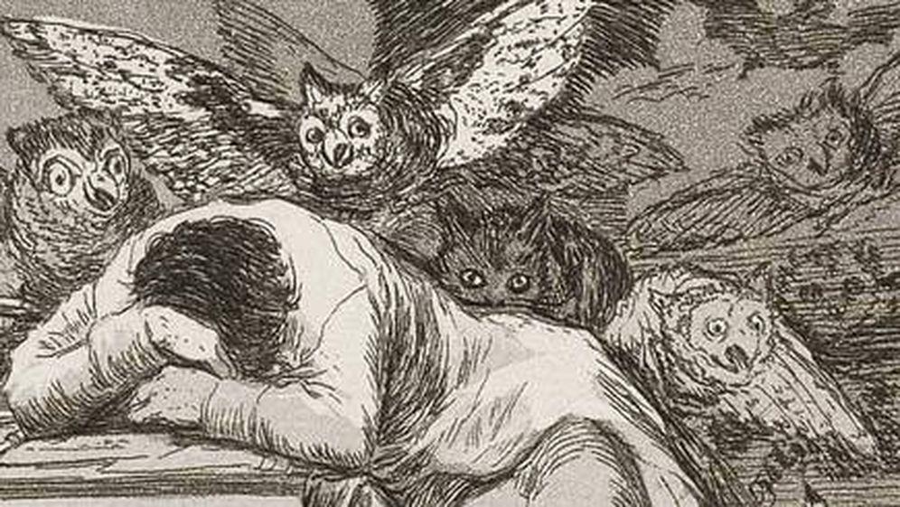 Foto: La obra de Goya 'El sueño de la razón produce monstruos'