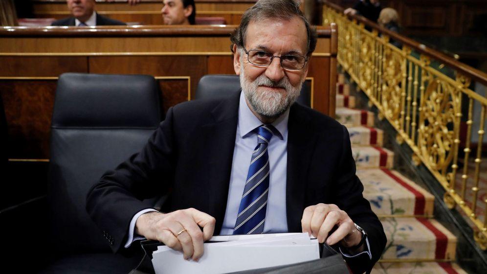 Foto: El presidente Mariano Rajoy, en el Congreso. (EFE)