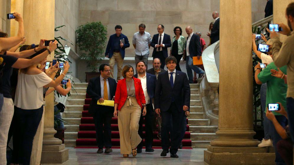 Foto: Reunión por el Pacto Nacional por el Referéndum. (Reuters)