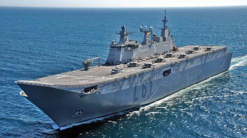 'Rancho' para 1.200 y tensión en cubierta: así es vivir en el mayor buque de guerra español