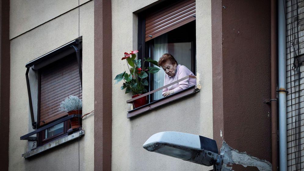 Foto: La soledad, un factor de riesgo bastante importante. Foto: EFE Javier Etxezarreta