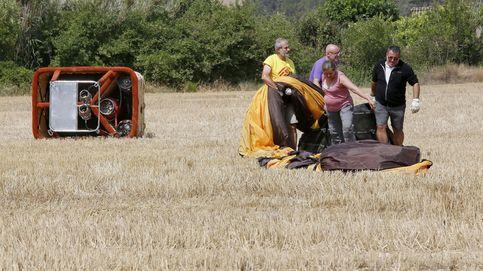 Un muerto y cuatro heridos en un accidente de globo aerostático en Vilanova del Camí