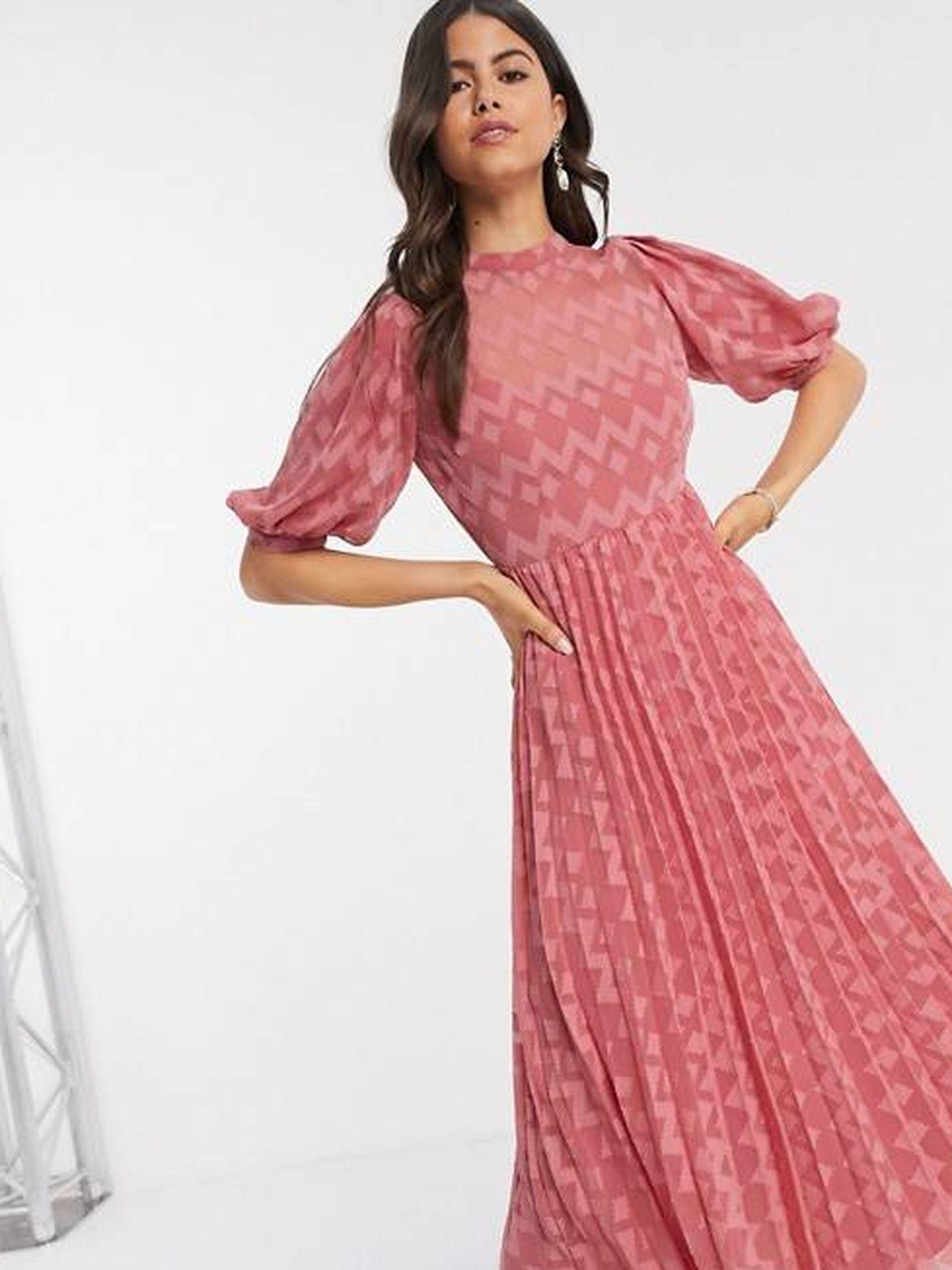 El vestido de Asos Design. (Cortesía)