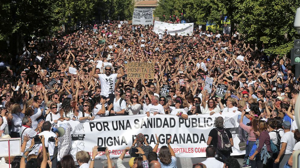 "'Spiriman' carga  contra la Sanidad pública andaluza: ""No nos pararán"""