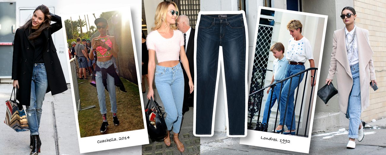 Foto: ¿Te atreves a probar unos 'mom jeans'?