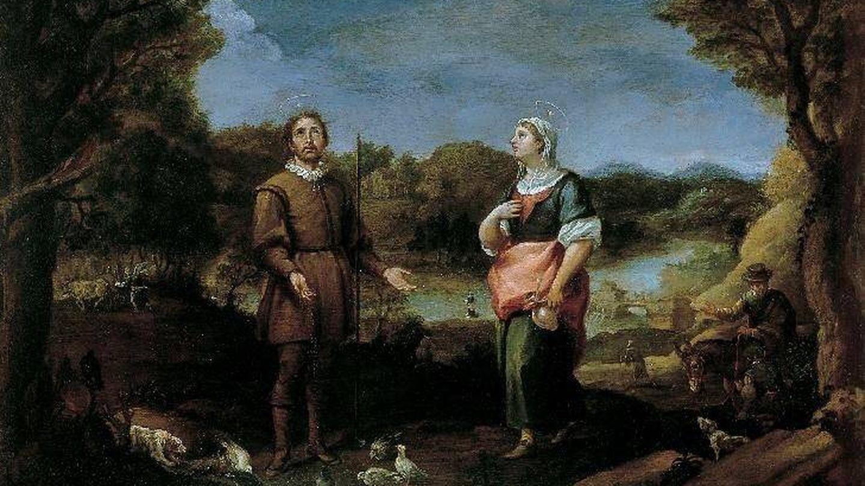 'San Isidro Labrador y Santa María de la Cabeza', obra de Alonso del Arco.