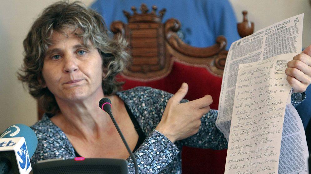 Foto: La alcaldesa de Andoain, Ane Carrere (EH Bildu). (EFE)