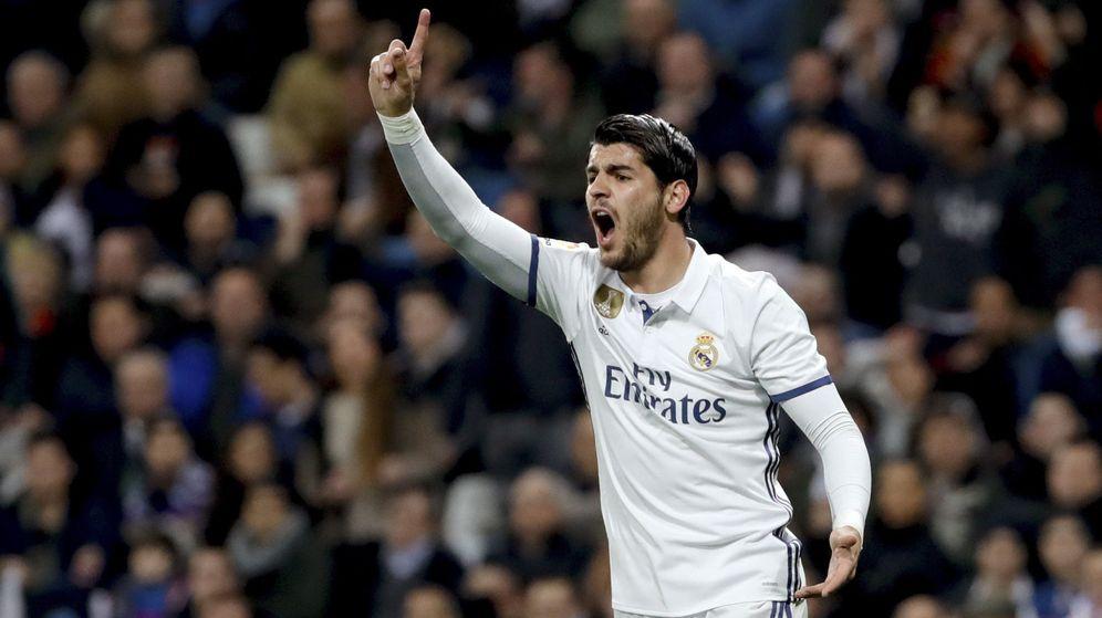 Foto: Morata fue traspasado al Chelsea por 80 millones de euros. (EFE)