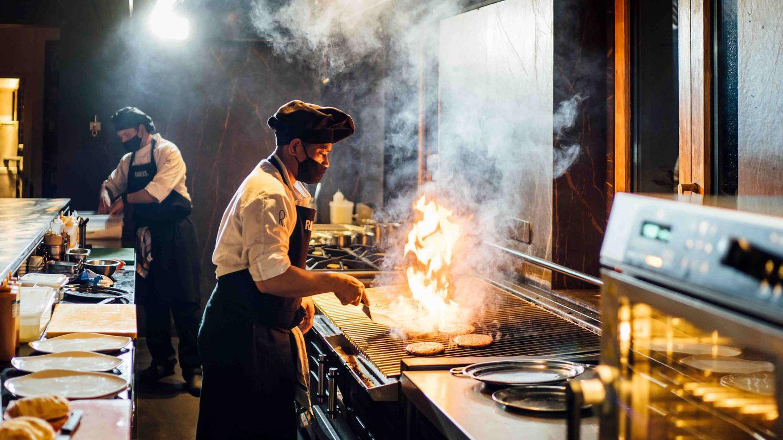 Restaurante Kitchen.
