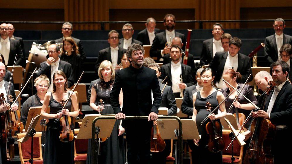 Foto: Pablo Heras-Casado con la Orquesta Sinfónica de Madrid (TEATRO REAL)