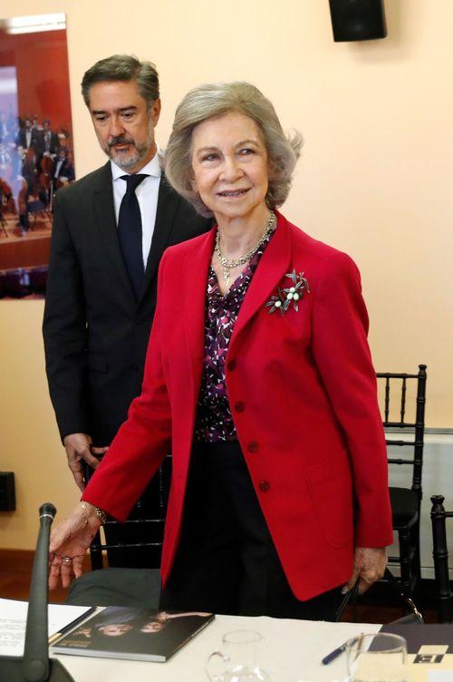 Foto: La reina Sofía en una imagen de archivo. (EFE)