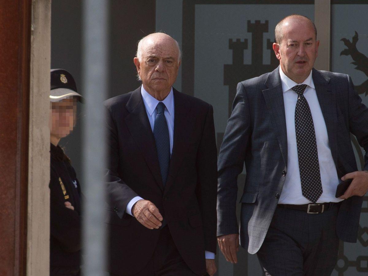 Foto: Francisco González, expresidente de BBVA, es uno de los principales investigados del caso en la Audiencia. (EFE)