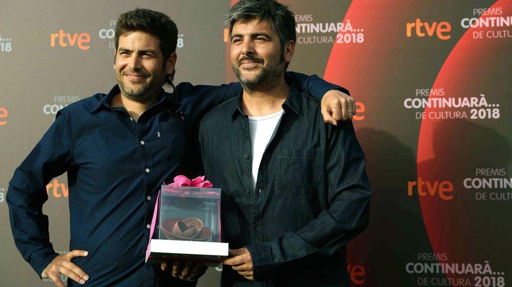 Foto: Los hermanos Muñoz, en una entrega de premios. (EFE)