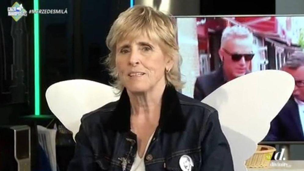 Foto: Mercedes Milá en 'Cazamariposas'.