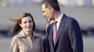 El look de Doña Letizia para su adiós a España y su hola a Japón