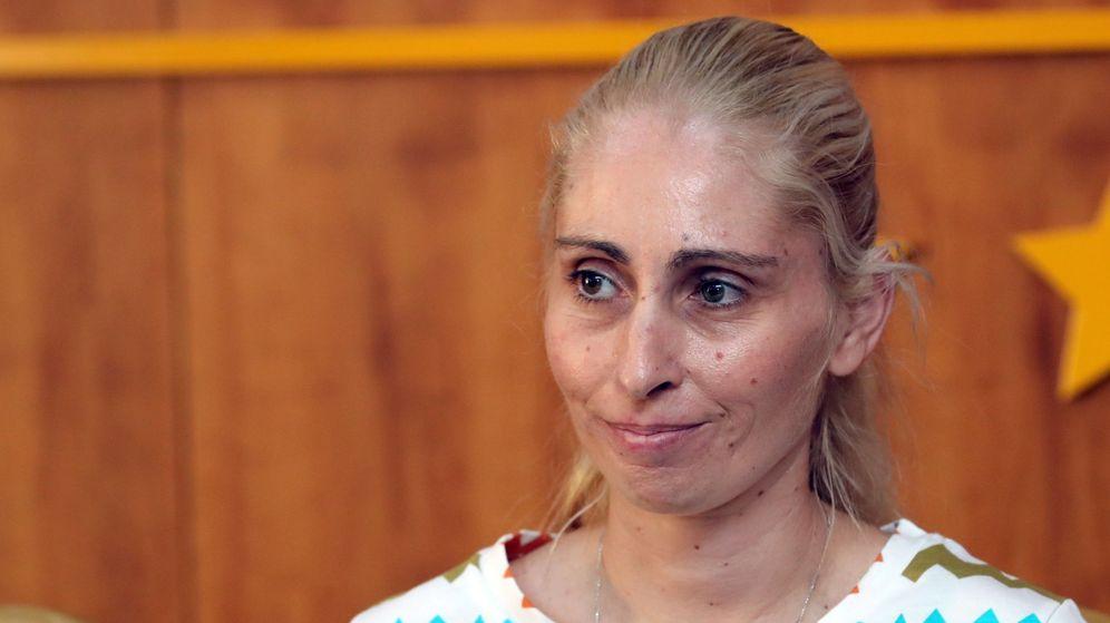 Foto: Ithaisa Suárez, madre de Yéremi Vargas, el niño que desapareció en Vecindario (Gran Canaria) hace doce años. (Efe)