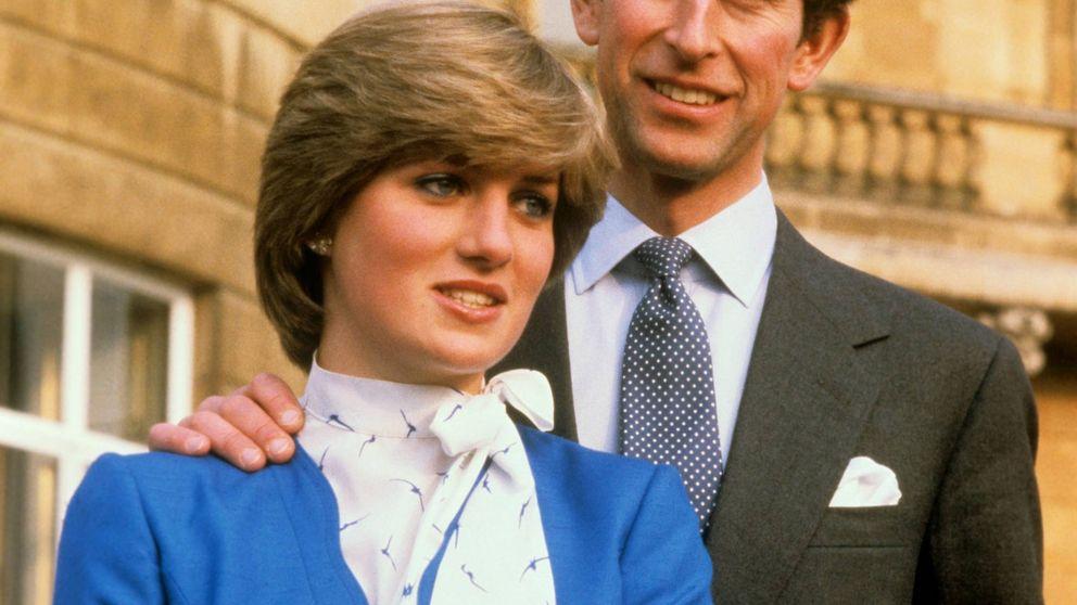 El curioso secreto que ocultaban las fotos oficiales de Lady Di y Carlos de Inglaterra