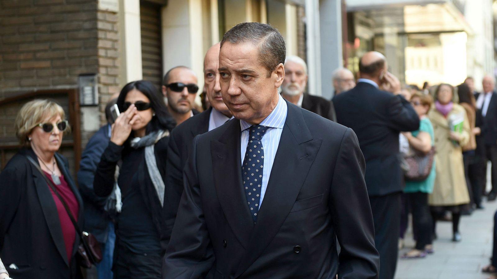 Foto: El exministro y expresidente de la Generalitat valenciana Eduardo Zaplana en 2017. (EFE)