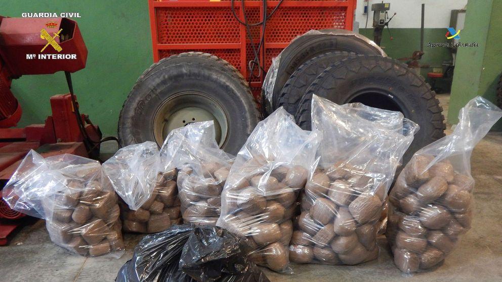 La GC da el mayor golpe a la droga en Melilla de 2020 al aprehender 191 kilos de hachís