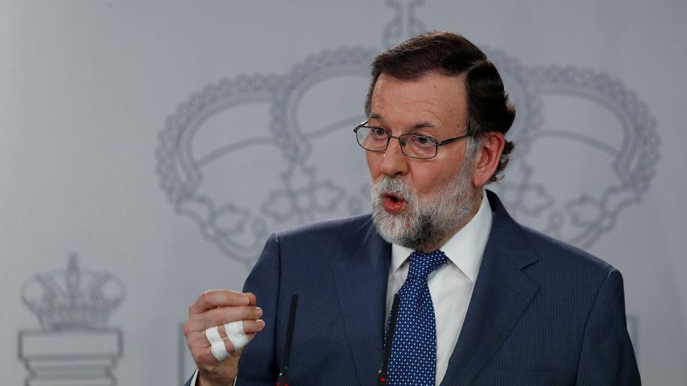 Foto: El presidente del Gobierno, Mariano Rajoy, tras la reunión con su homólogo danés, Lars Løkke Rasmussen. (Reuters)