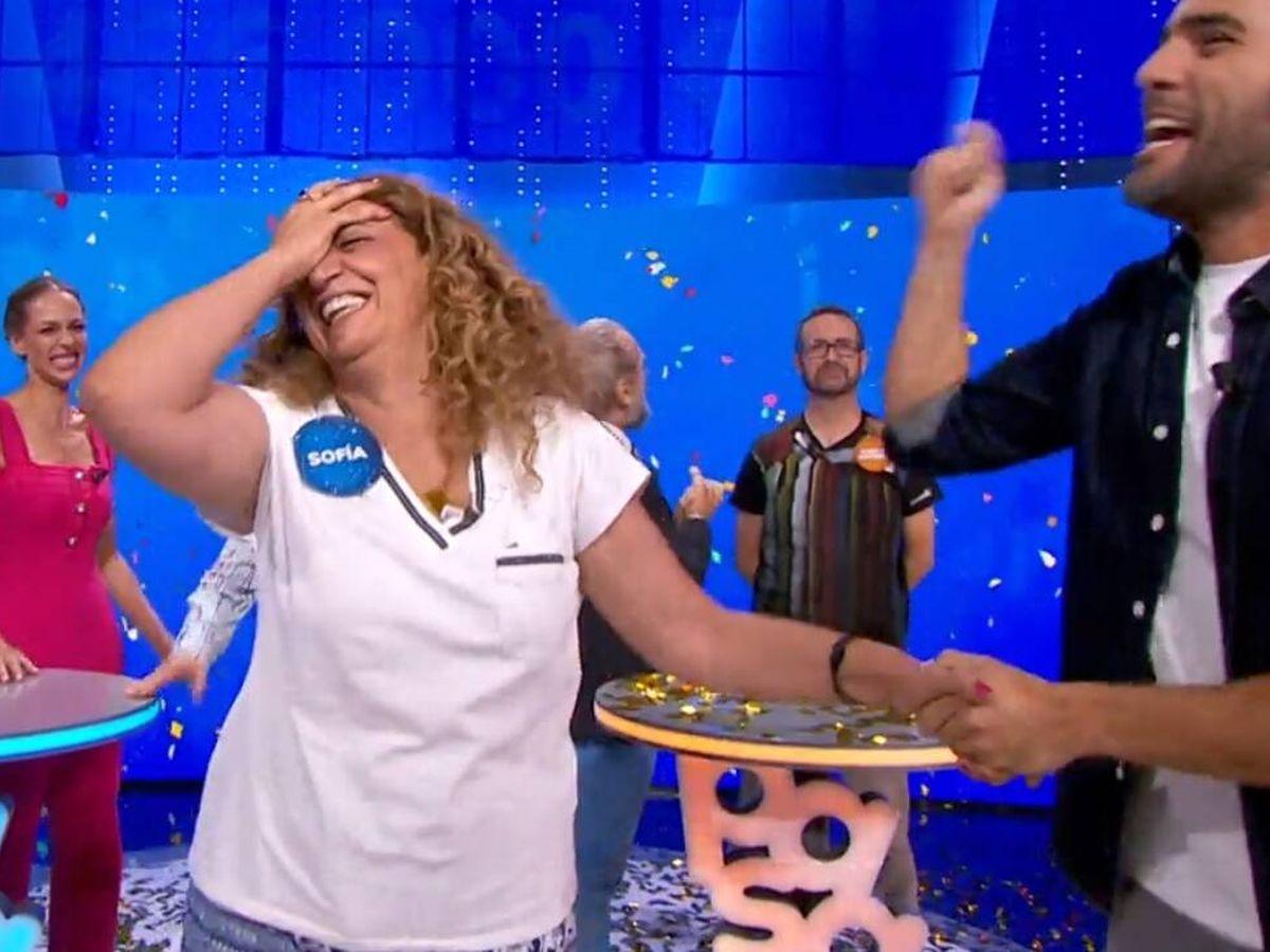 Foto: Sofía, nueva ganadora de 'Pasapalabra'. (Atresmedia Televisión)
