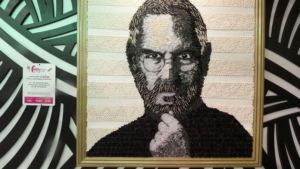 Foto: Steve Jobs by Jackie Sorkin para Candytopia. (EFE)