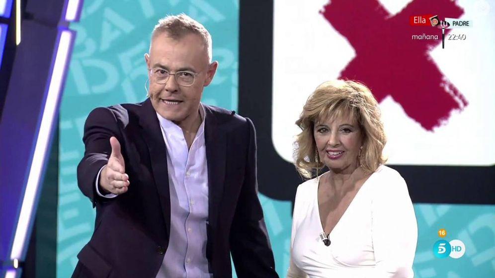 Foto: María Teresa Campos y Jordi González en 'GH: el DBT'. (Mediaset España)