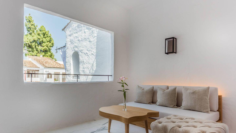 Imagen de la Terrace Junior Suite del Nobu Hotel Marbella de Robert de Niro.