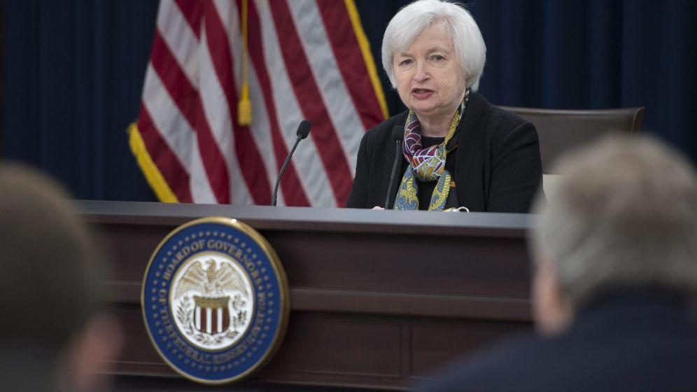Foto: La presidenta de la Reserva Federal, Janet Yellen. (EFE)