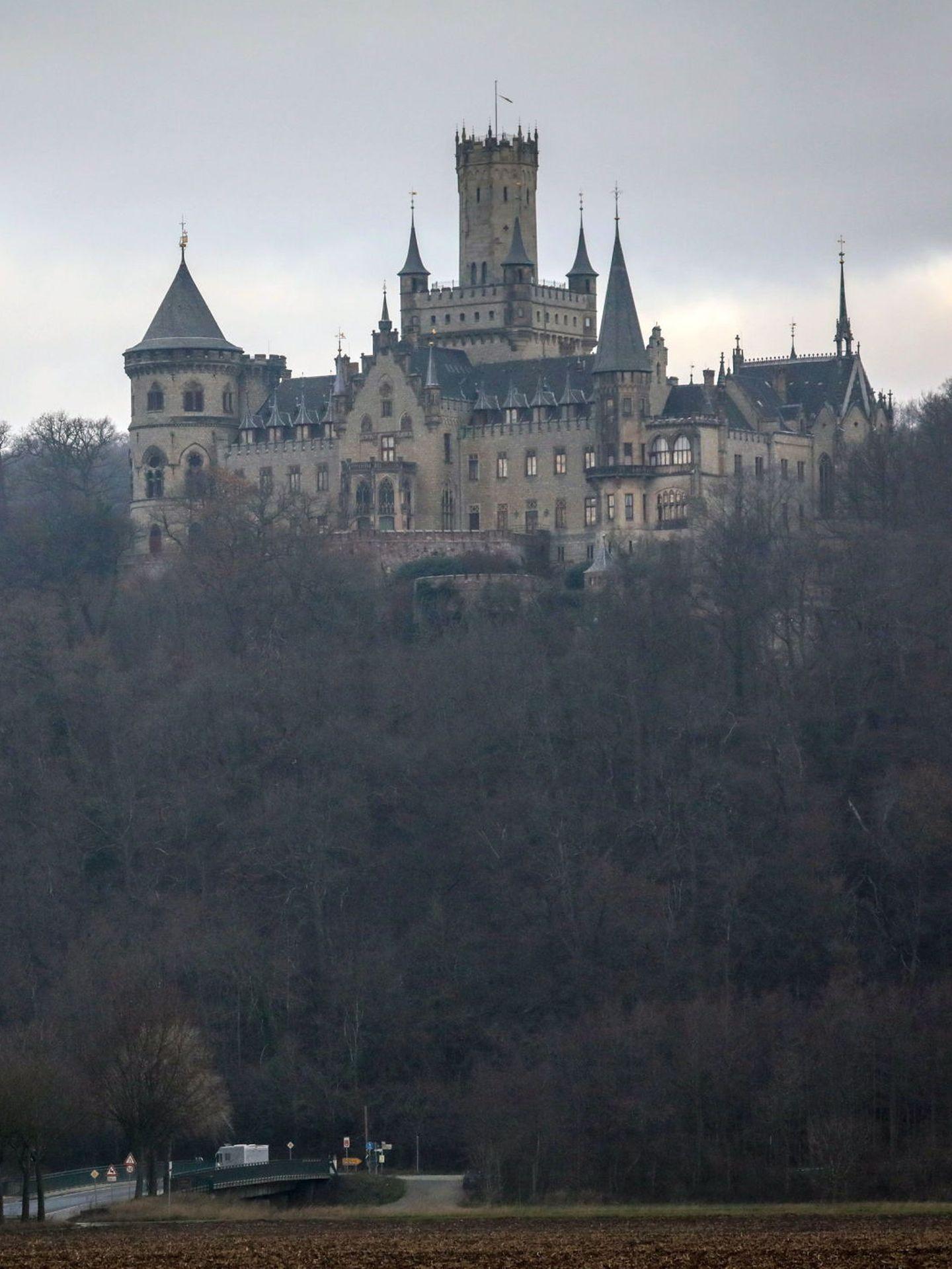 Vista del castillo de Marienburg.