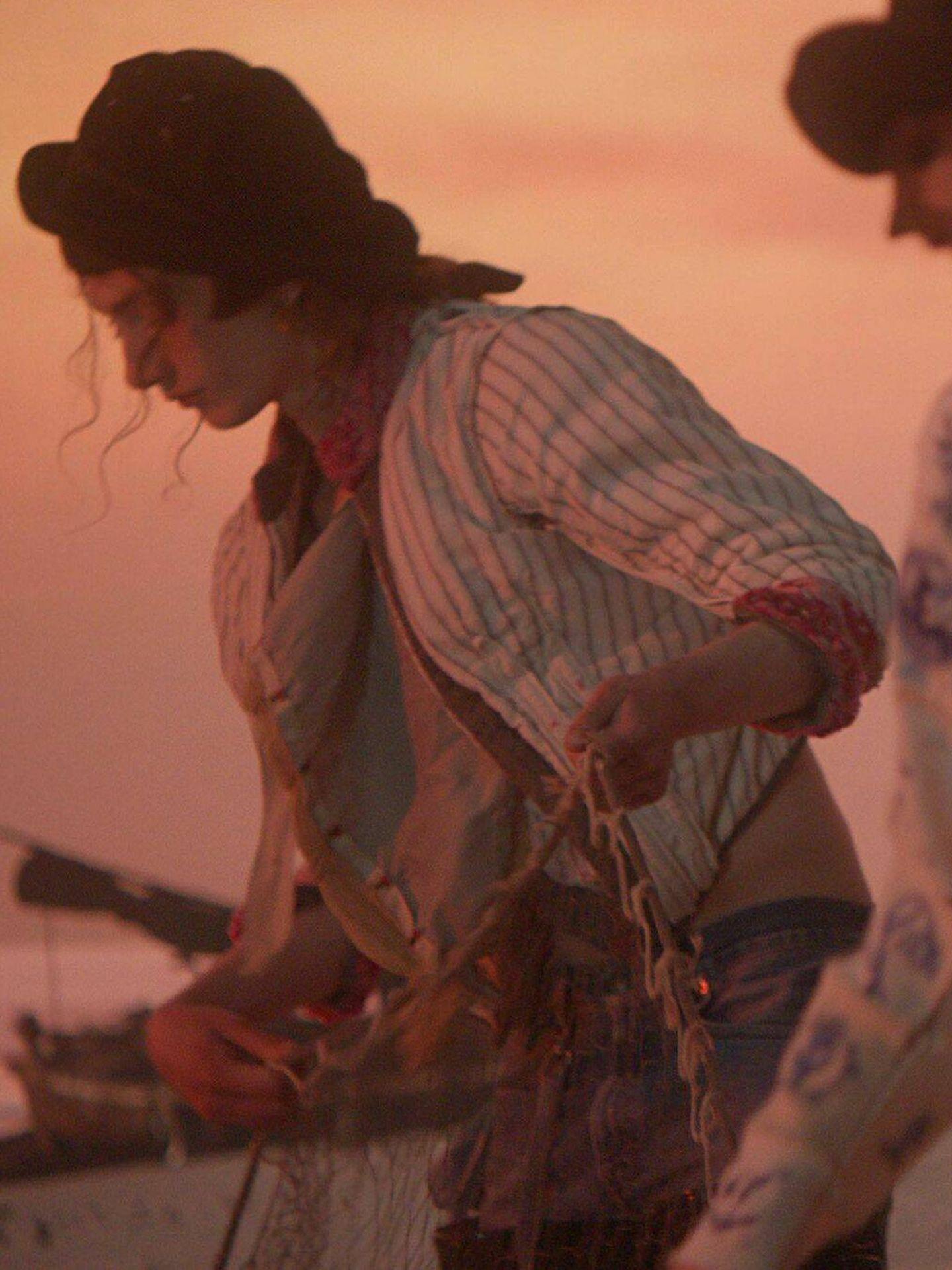 Fotograma del fashion film de Maison Margiela. (Cortesía)